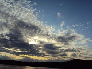 Near Fogo Island, Newfoundland - some of the prettiest skies you will ever see.