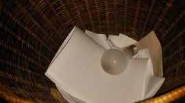 Light bulbs are throw-aways, people are not.